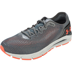 Under Armour Hovr Sonic 4 Running Shoes Men pitch gray-white-venom red